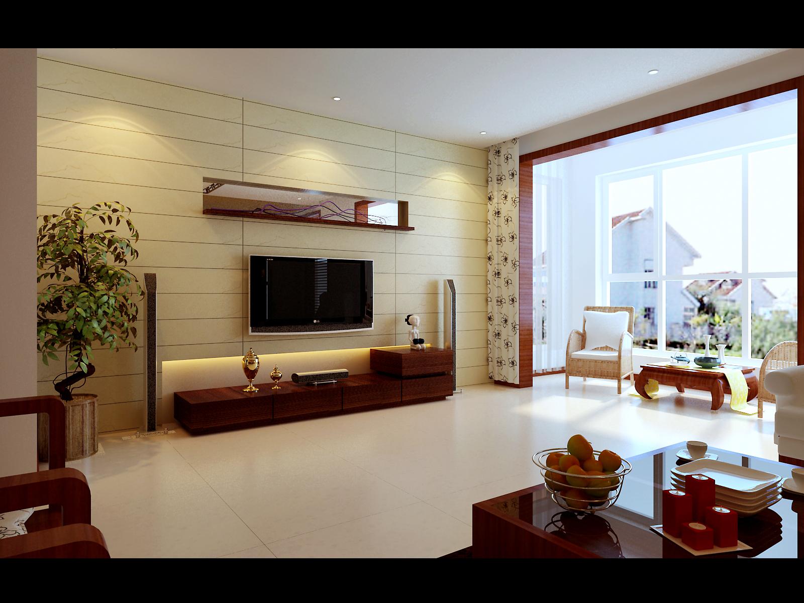 客厅1_3d工作室案例展示_一品威客网