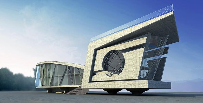 建筑小品设计 常年绿叶设计咨询工作室案例展示 一品威客网图片