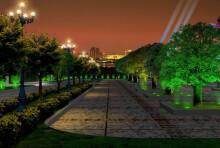 小区绿化夜景照明设计