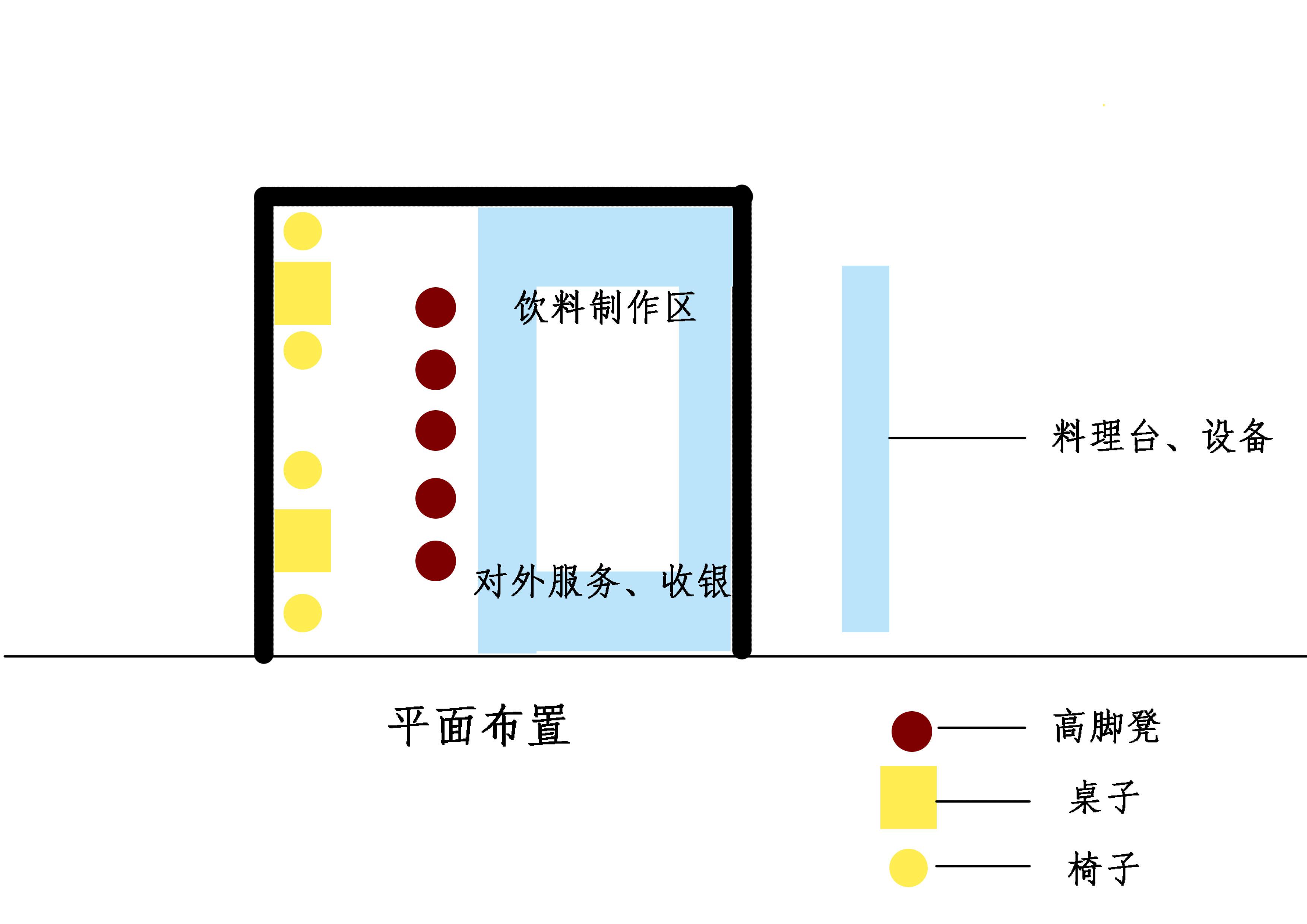 征集品牌奶茶店设计方案效果_店面装修设计_建筑装修