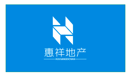 logo是以英文字母h来设计的,整个标志以矛盾空间构成的,外形像一栋