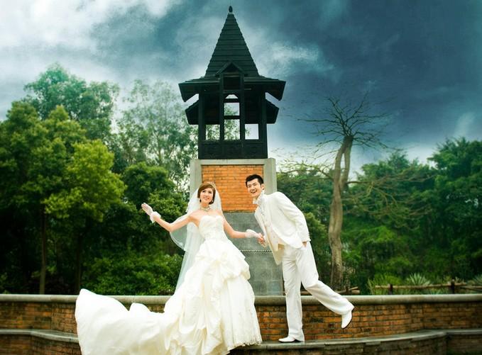 婚纱照美化技巧 婚纱照选片攻略