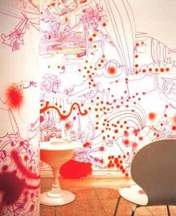 装饰装修绝招之手绘墙画制造独一无二的私家风景