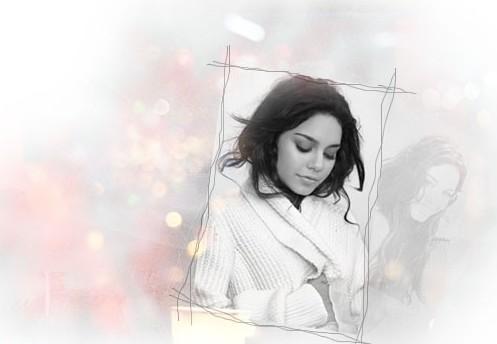 ps旧照片翻新教程 将照片合成梦幻黑白照片