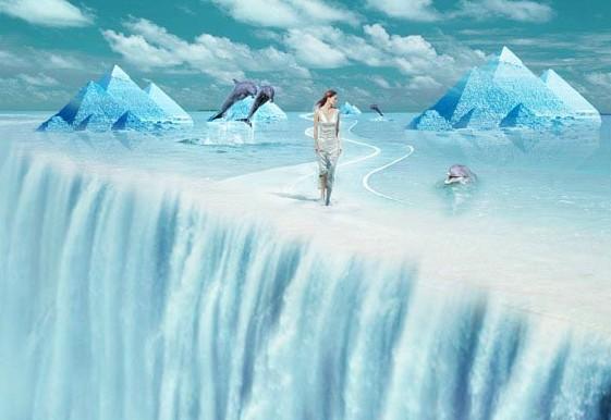 冰天雪地里千里