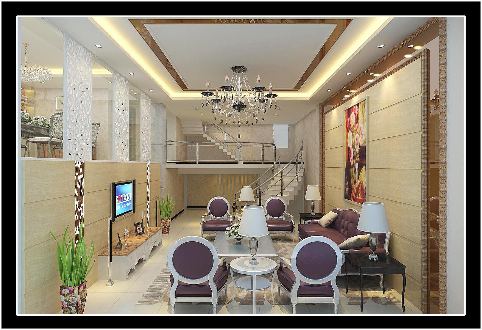 别墅装修_视角空间设计工作室案例展示