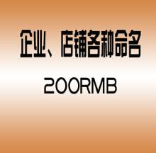 威客服务:[16576] 企业、店铺各种命名
