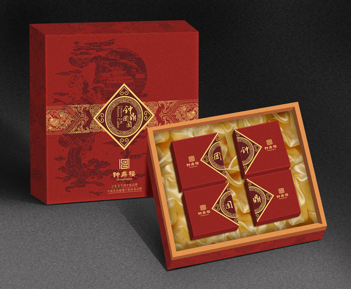 酒店月餅包裝設計_艾肯美道品牌設計機構案例展示