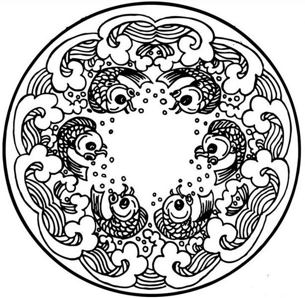 图案从题材上大体可以分为六类:植物类:梅,竹,菊,兰,松,牡丹等;动物类