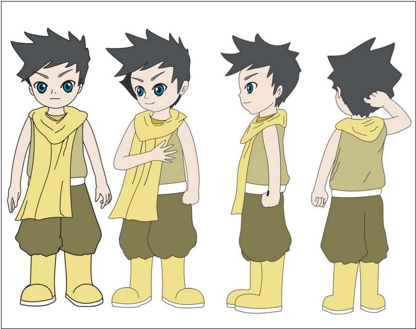 动漫人物画法 动漫人物设计