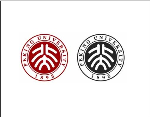 学校logo设计说明 北大学校logo设计