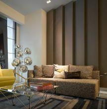 威客服务:[17608] 造价2000000 三居 现代风格 公寓效果