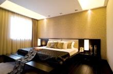 低调的华丽卧室装修案