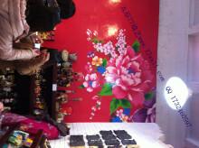 店面装修墙体彩绘