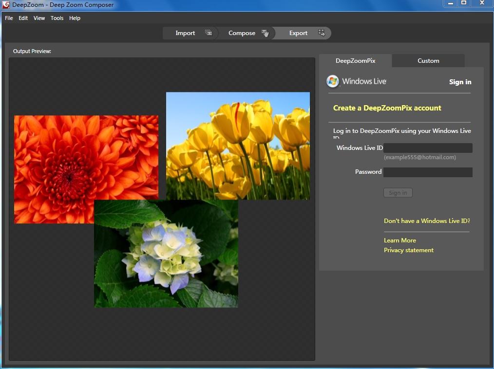 Windows Phone图片开发工具 如何使用DeepZoom