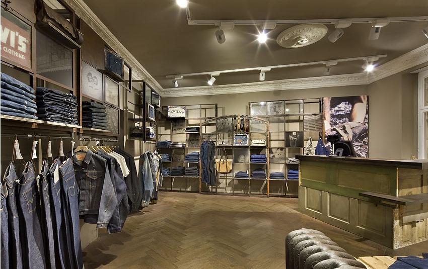 男装店面装修设计的方法技巧 店面装修设计要有创意和技巧