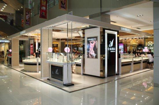 品牌墙纸店的店面装修设计技巧 墙纸店面门头设计的方法