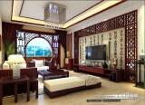 龙韵秀居中式 客厅装修