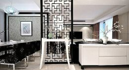 家居文化背景墙中式风格设计 中式家居文化墙设计技巧