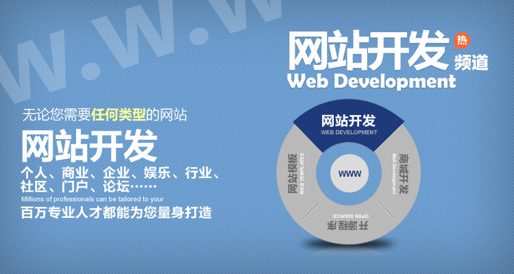 如何开发一个网站 网站开发流程