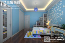 【儿童房间】现代风格儿童卧室效果图