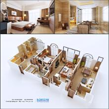 威客服务:[20025] 酒店会所空间设计