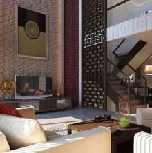 泰宁杨总独栋别墅5室3厅4卫中式装修案例效果图