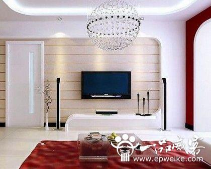 客厅电视背景墙效果图方案