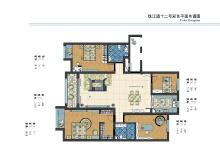 上海珠江道十二号平面图设计
