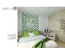 清新的卧室效果图设计