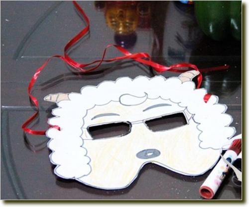 万圣节面具制作方法图片讲解 简单的万圣节面具怎么做