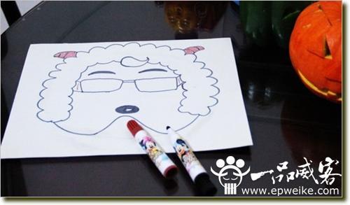 小羊简笔画可爱mianju