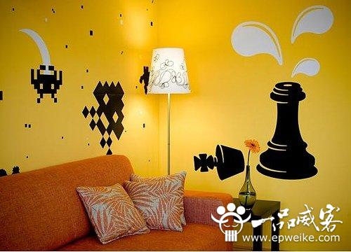 手绘墙图片_手绘墙素材_手绘墙设计师_室内墙体彩绘