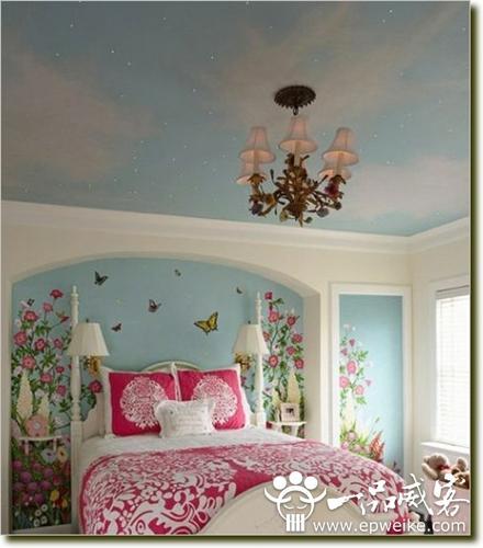 好看的卧室背景墙墙装修图 卧室背景墙装修效果图大全