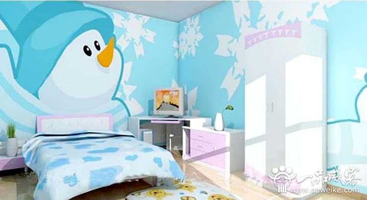 儿童房手绘墙如何设计 儿童房手绘墙色彩图案设计