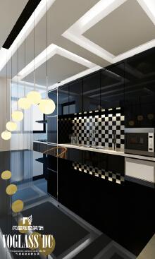 天津尚层装饰——经典现代风格别墅装修效果图