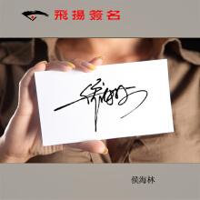 威客服务:[25282] 飞扬艺术签名设计