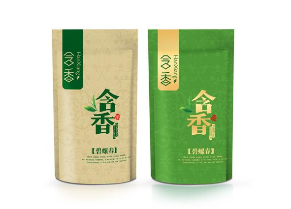 绿茶茶叶包装袋设计