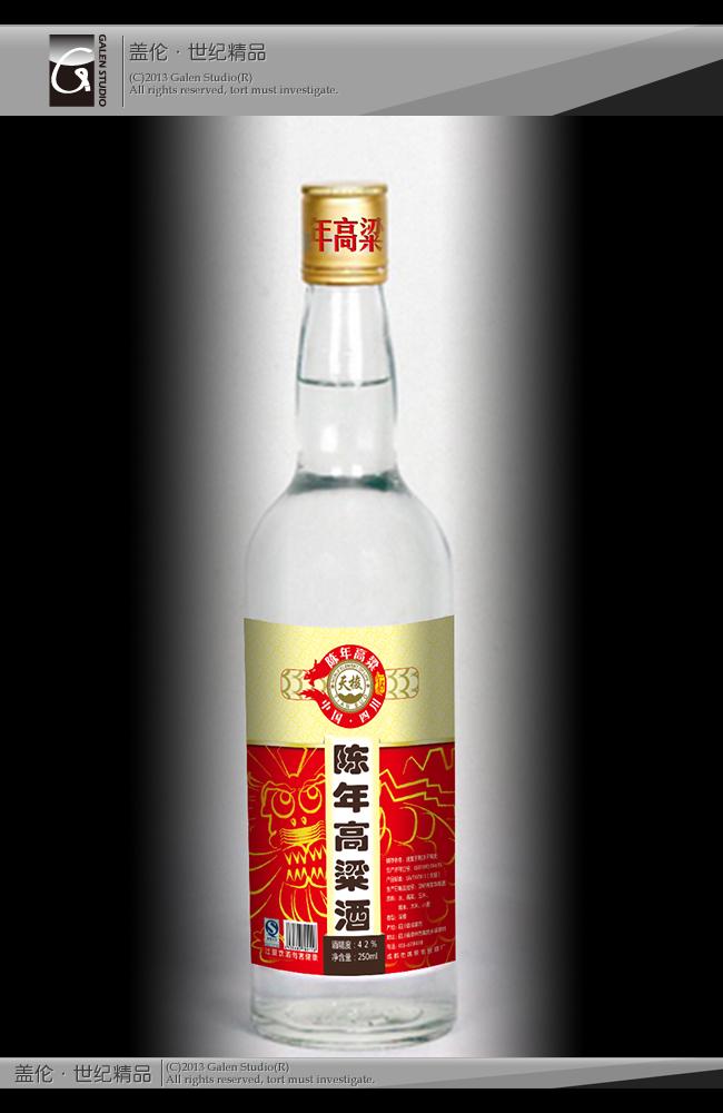 白酒产品瓶标设计【综合因素中标稿件】_商标设计_/vi图片