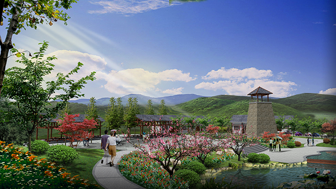 北京室外景观设计_北京室外园林景观设计图片