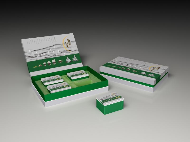御品白茶创意包装设计,福州产品外包装设计