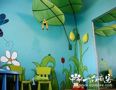 室内手绘墙设计的特点 室内手绘墙设计制作的特色