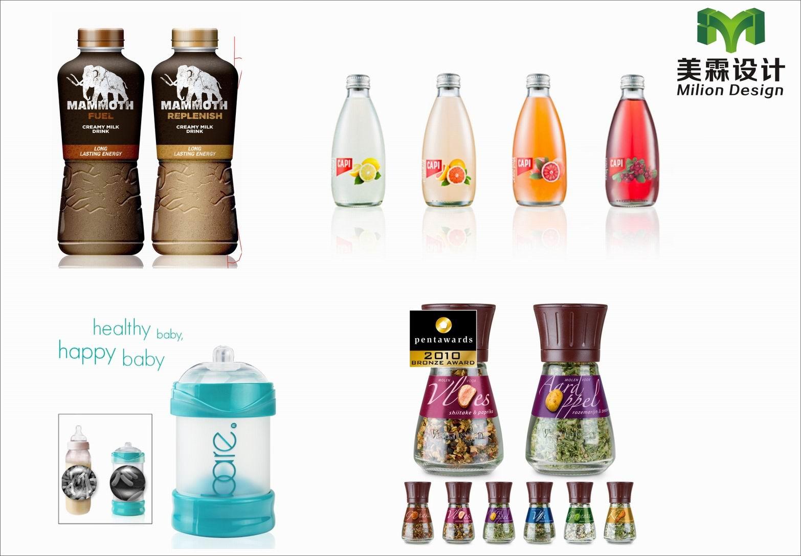 瓶型包装设计图片