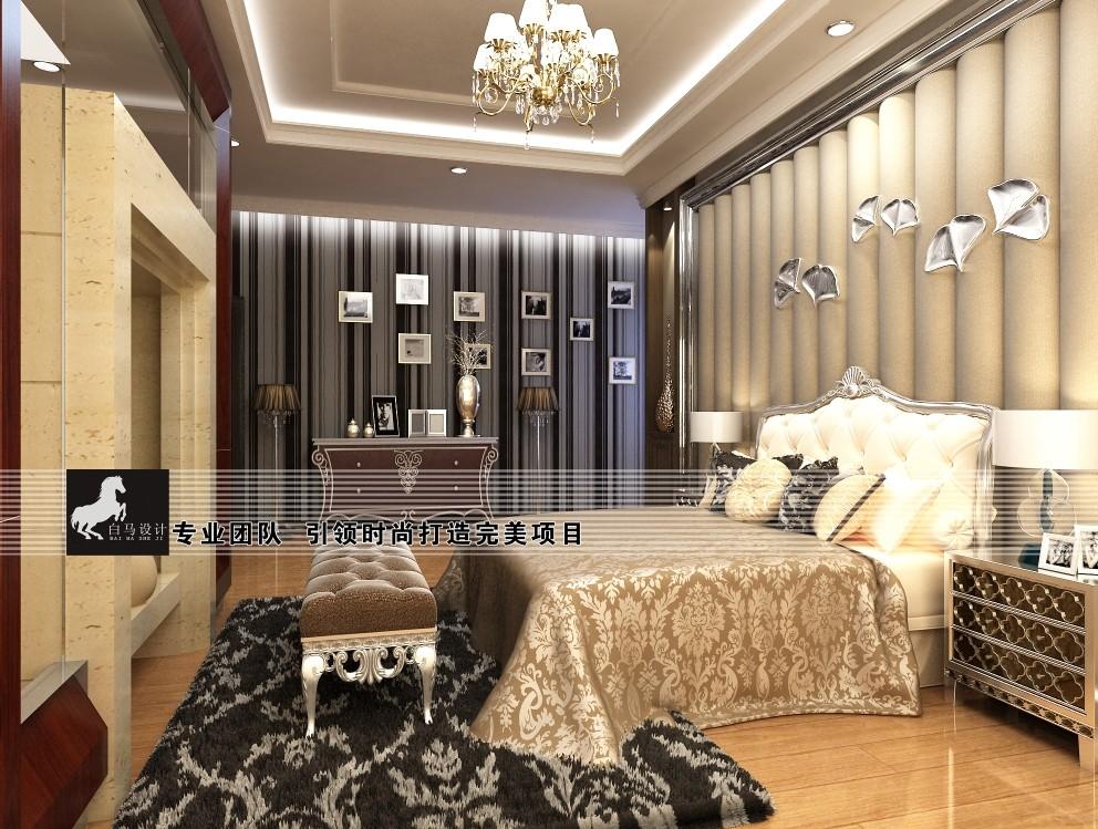 保利别墅主卧室方案设计