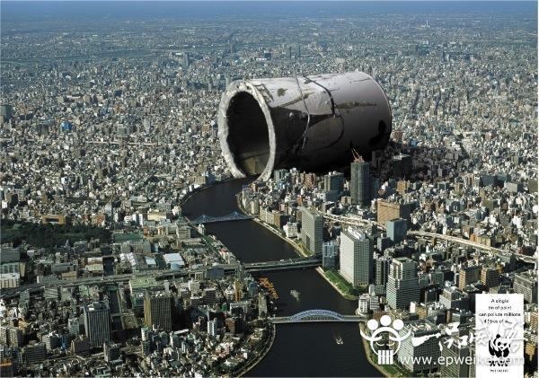 创意环保公益广告设计欣赏 环保公益广告创意设计作品图片