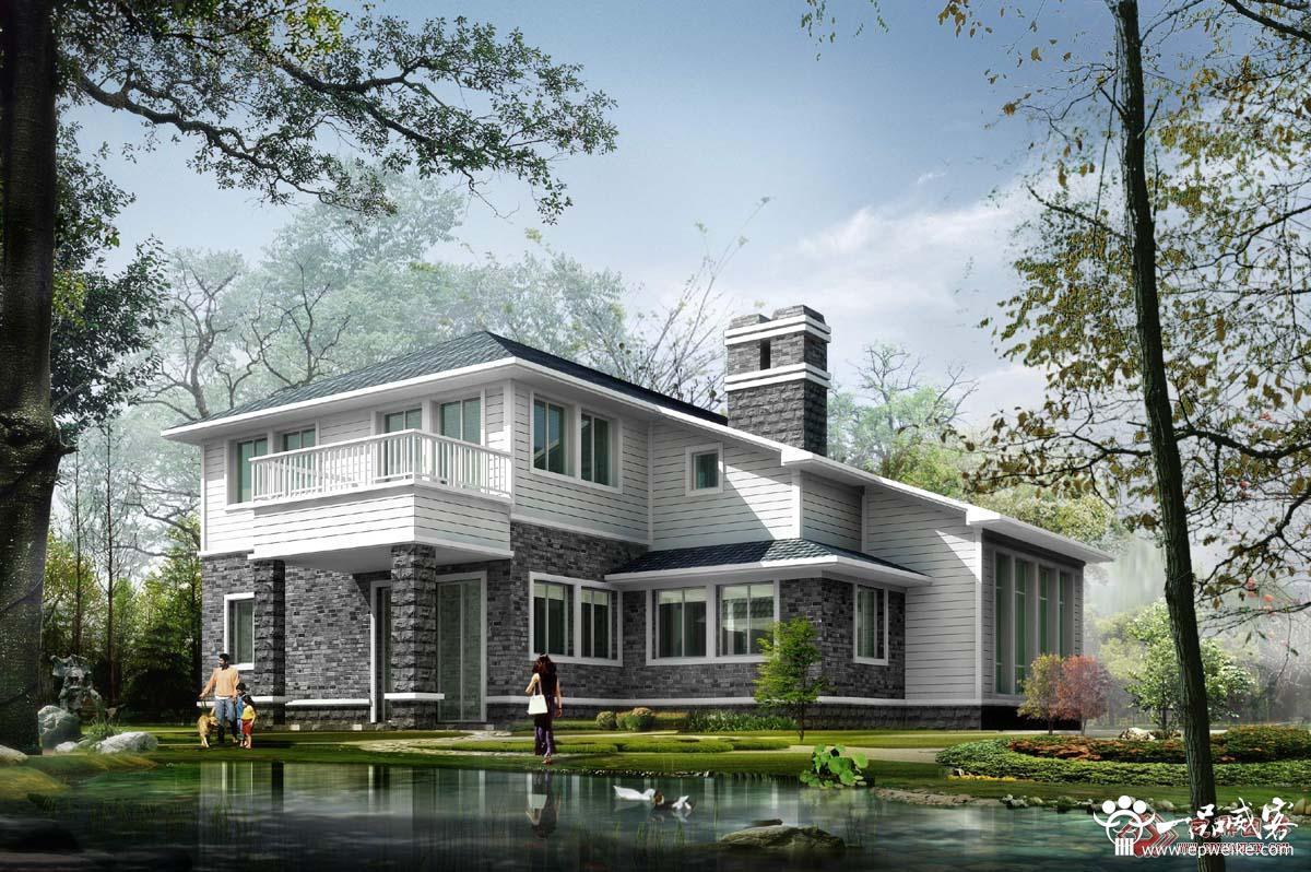 创意农村欧式小别墅设计图片
