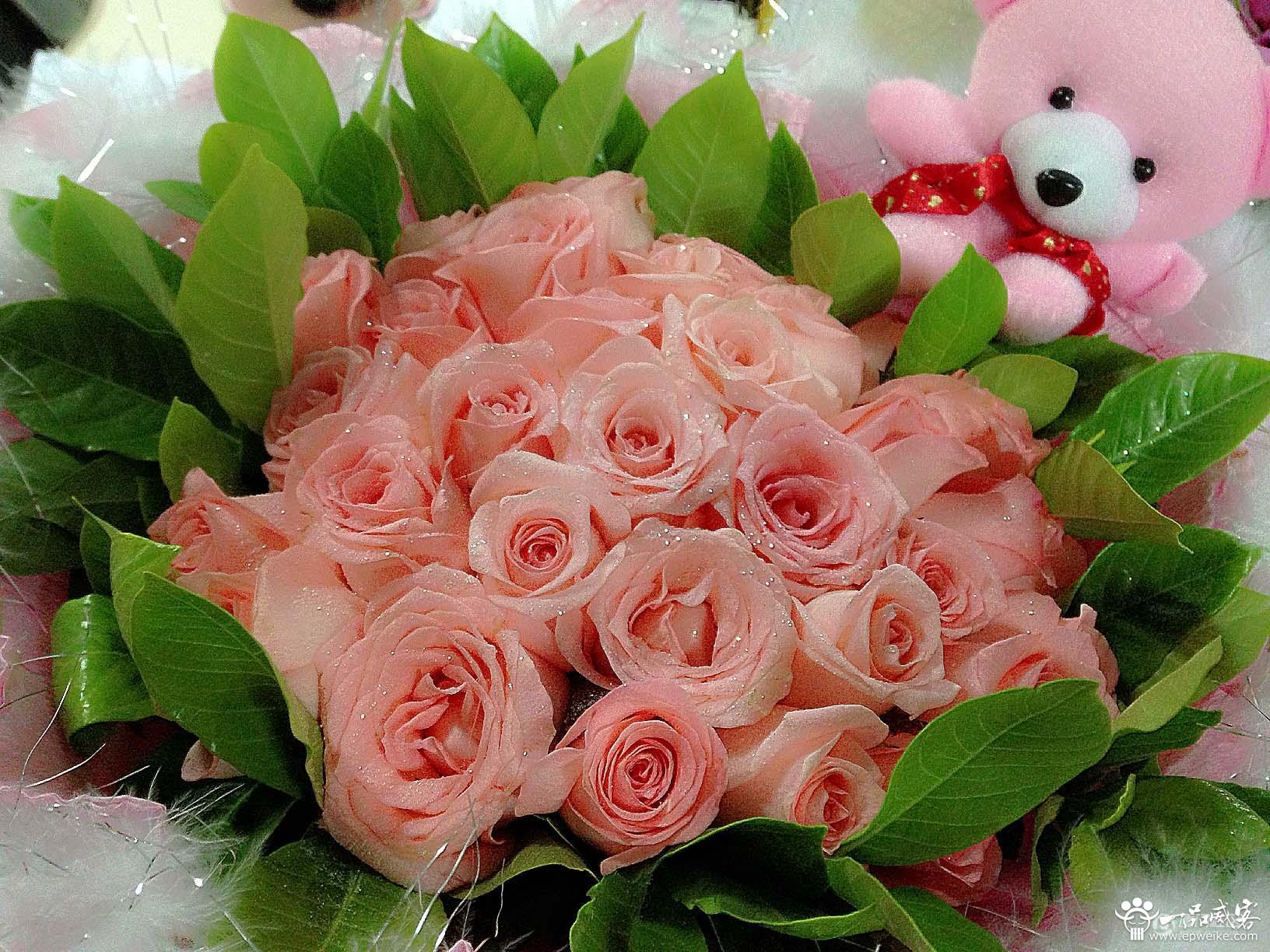情人节玫瑰花如何包装设计