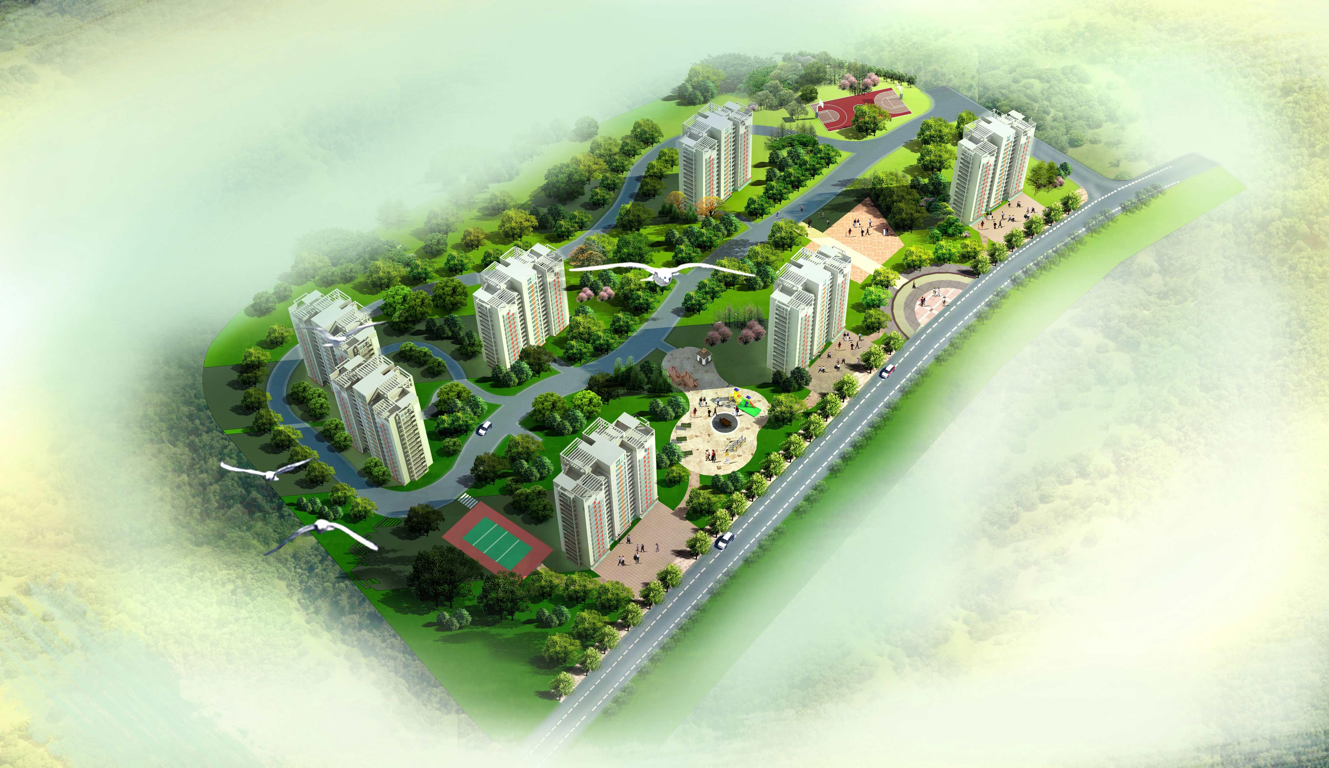 有人设计鸟瞰图吗-景观设计鸟瞰图手绘/鸟瞰图设计软件/城市设计鸟瞰