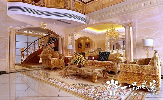 欧洲宫廷风格别墅装修设计 欧洲宫廷别墅设计方案