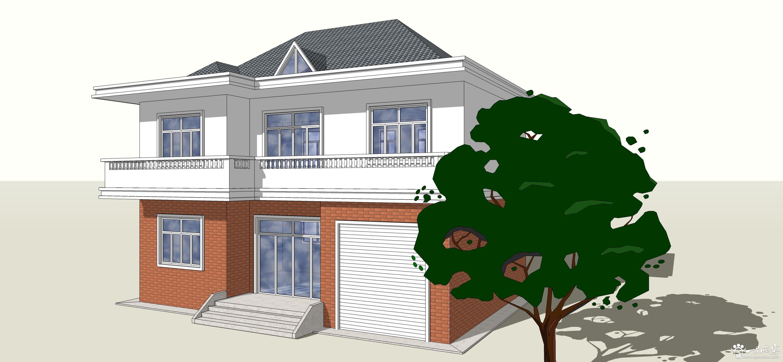 农村自建房设计常用效果图 农村自建房效果图制作内容